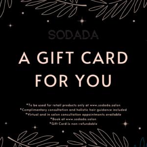 Sodada Gift Card